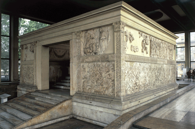 Images from Troy. Altar of Peace (Ara Pacis), Rome. 13-9 ...