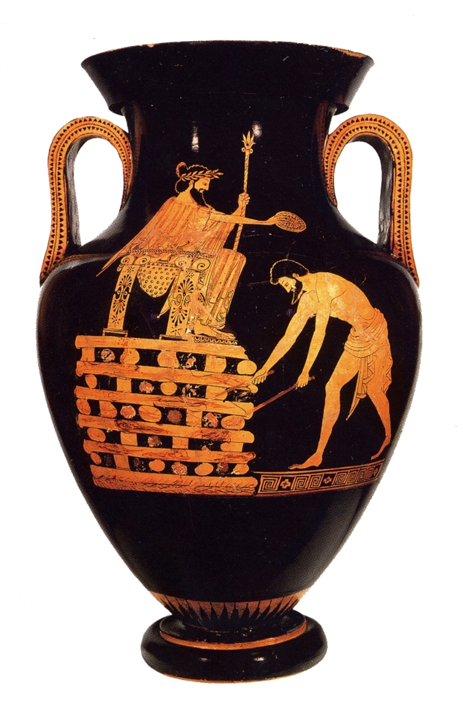 ancient greece and even artistic crimson shape container essay