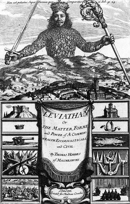 Resultado de imagen para hobbes leviathan
