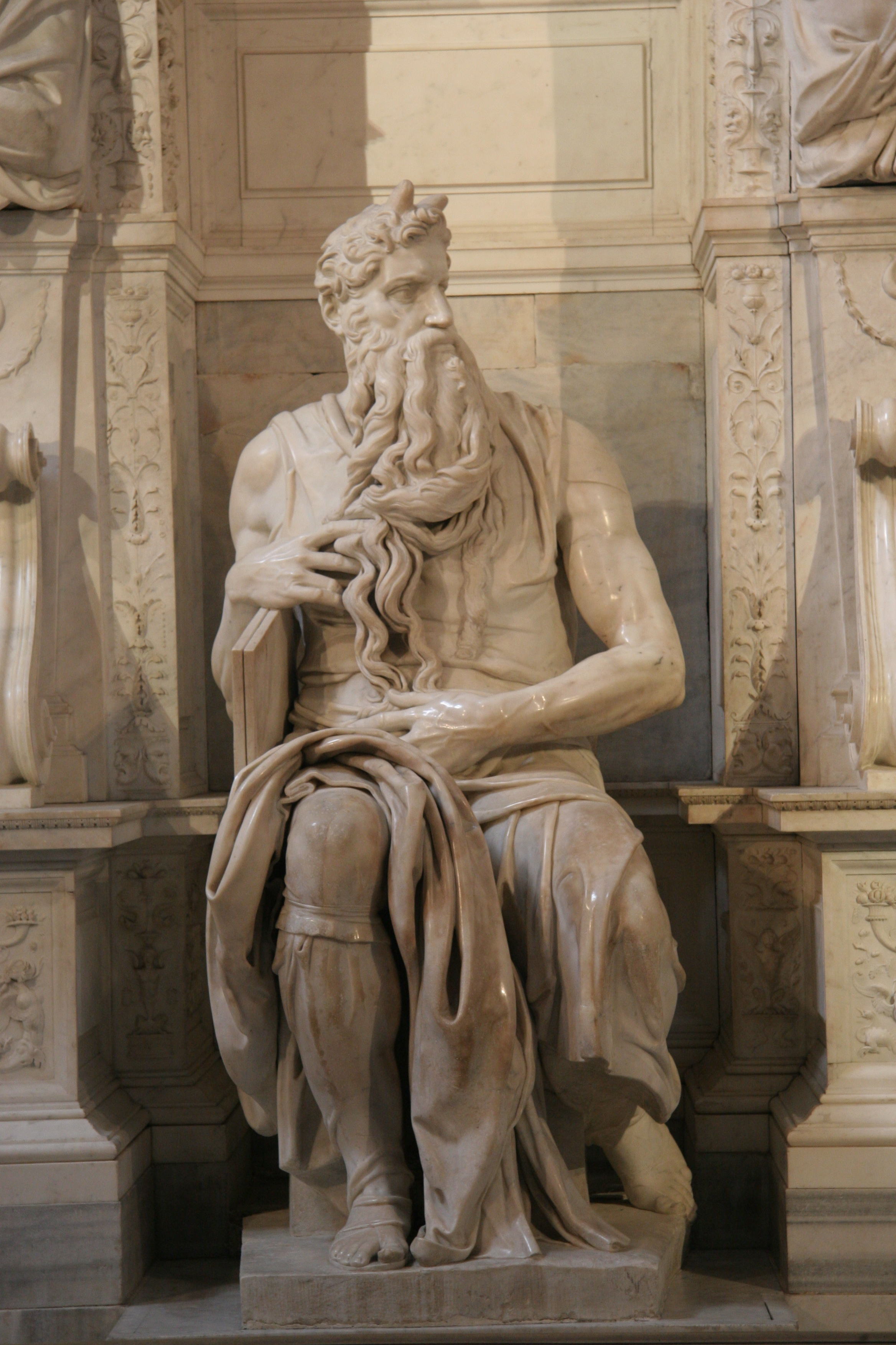 moses by michelangelo the core curriculum moses by michelangelo 1513 15