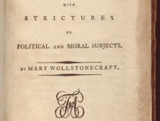 A Vindication of the Rights of Woman | The Core Curriculum