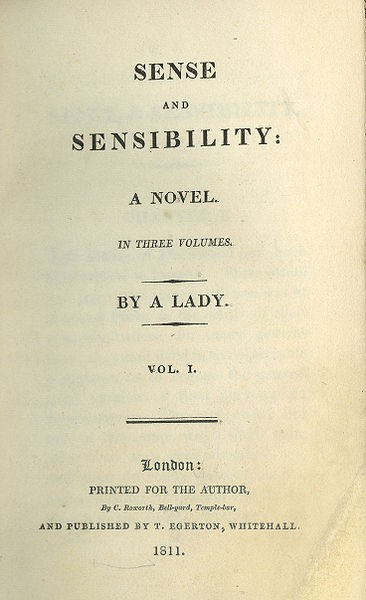 Image result for sense and sensibility first edition cover