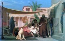 Socrate venant chercher Alcibiade chez Aspasie, 1861. By Jean-Léon Gérôme. Public Domain Image.