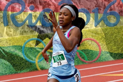 Akua Obeng-Akrofi CC'18. Photo: Columbia University Athletics