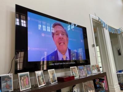 Rolando Acosta on TV