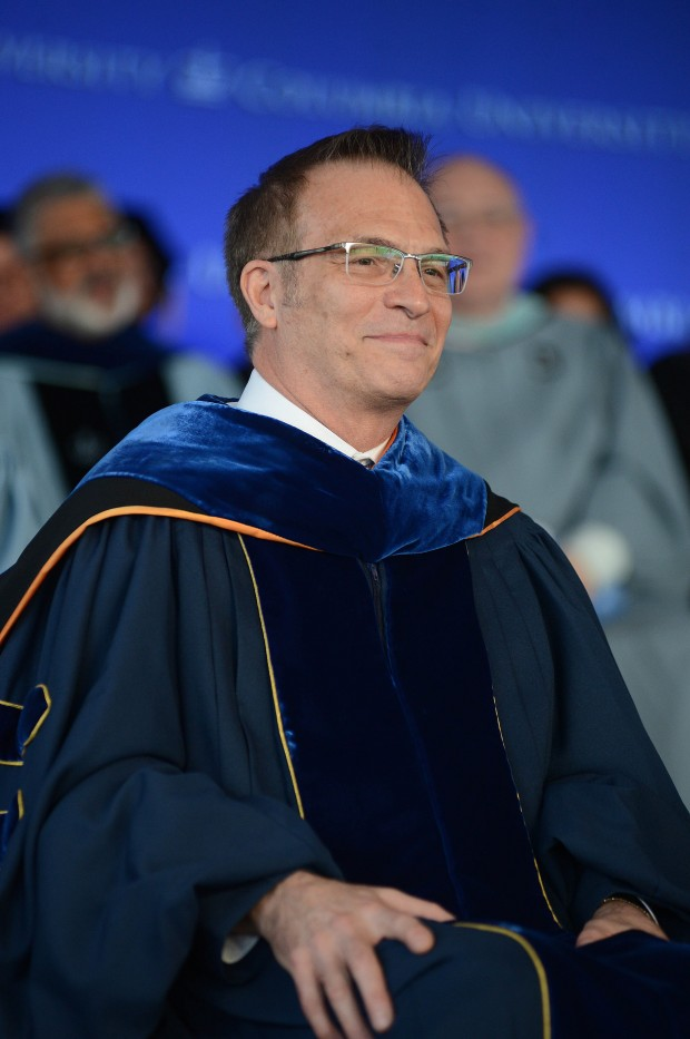 Dean James J. Valentini at Class Day. Photo: Eileen Barroso